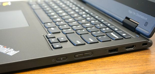 lenovo thinkpad yoga 11e chromebook right