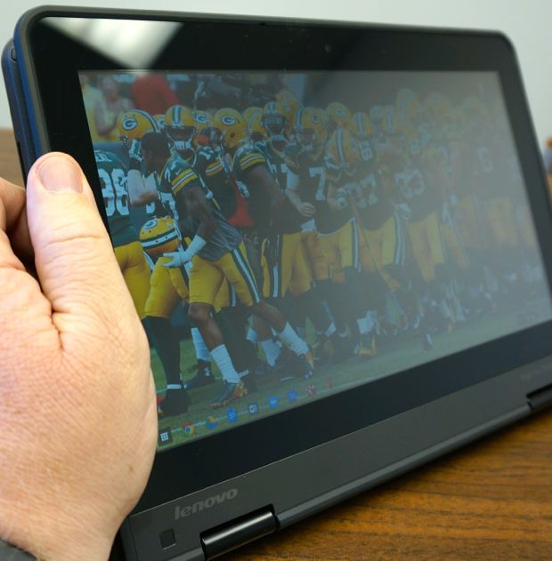 lenovo thinkpad yoga 11e chromebook tablet mode