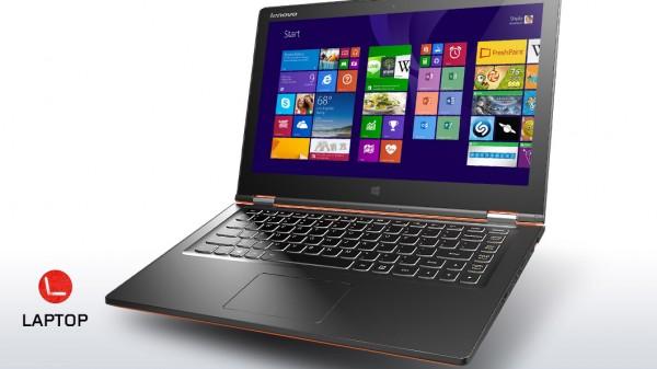 lenovo yoga 2 laptop mode