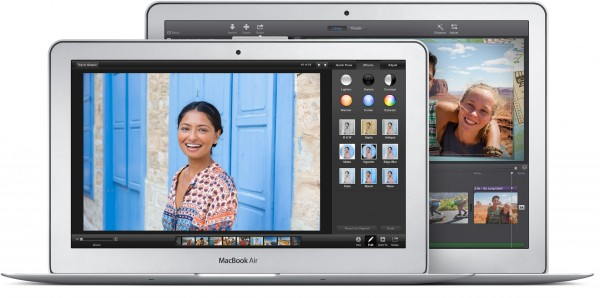 macbook air in 11 and 13 inch sizes