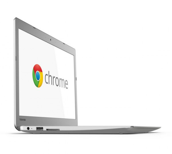 toshiba chromebook 2 left side