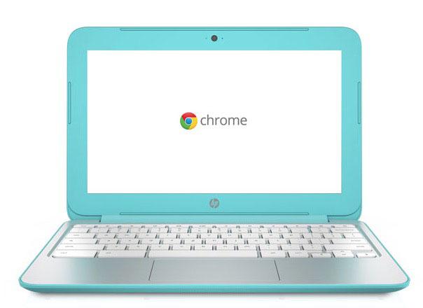HP Chromebook 11 Turquoise 2