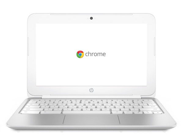 HP Chromebook 11 white