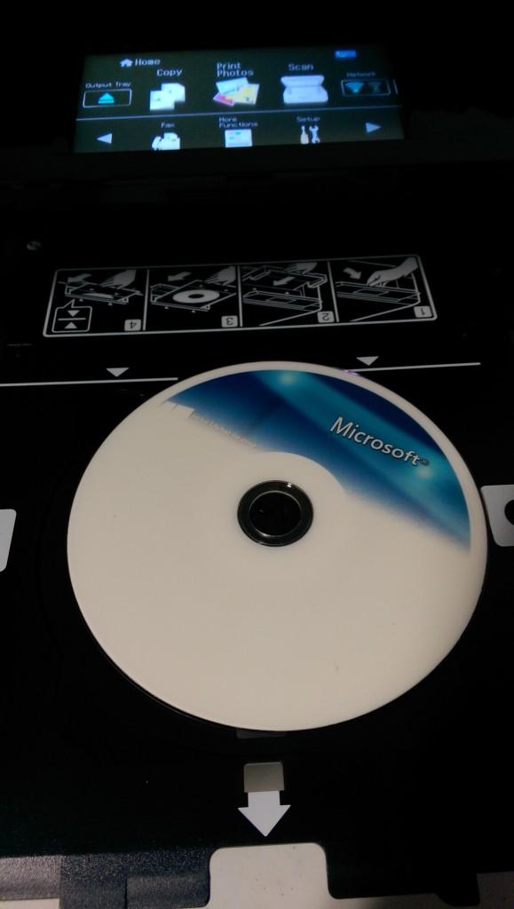 epson xp820 cd printer didn't work as well