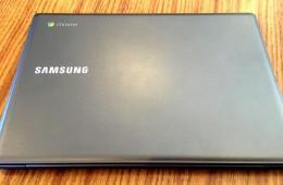 Samsung Chromebook 2 top lid