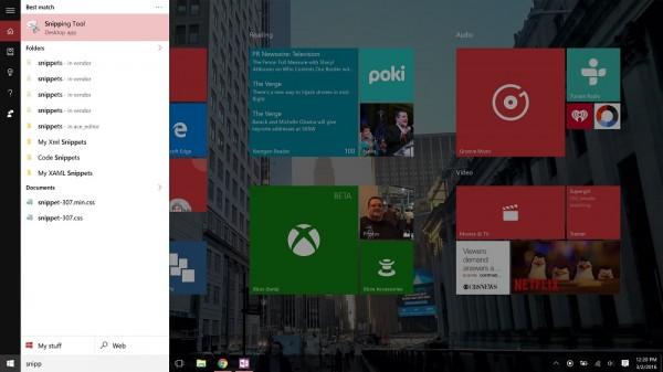 screenshots windows 10