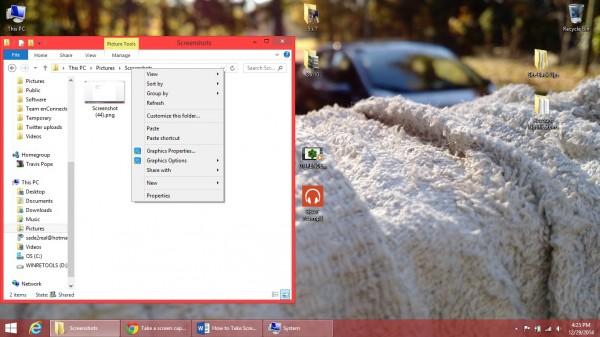 pc windows 10 screenshot