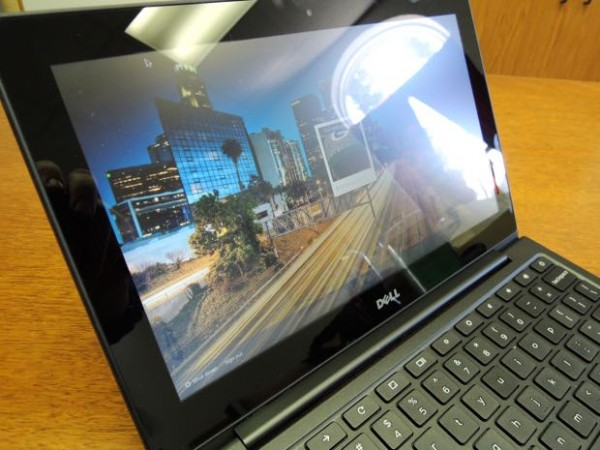 dell chromebook 11 with intel core i3 processor screen