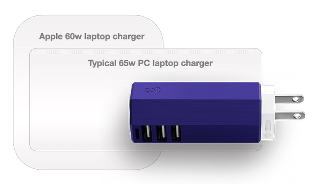 Super Small Notebook Charger Can Also Power Your Iphone Amp More