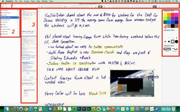 notability for os x