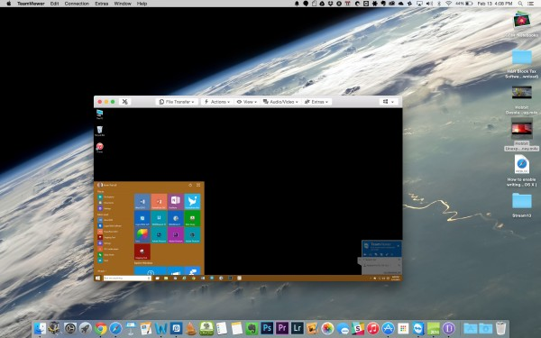 teamviewer for mac controlling windows pc