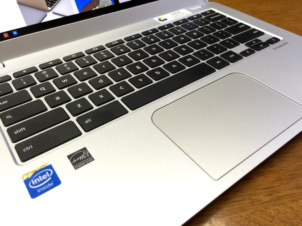 toshiba chromebook 2 touchpad