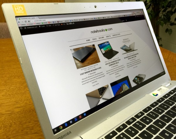 toshiba chromebook 2 display