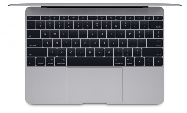 new macbook keyboard and trackpad