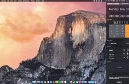 Calculator in the Mac Notifications Area