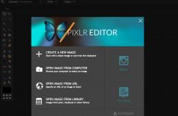 pixlr editor web app