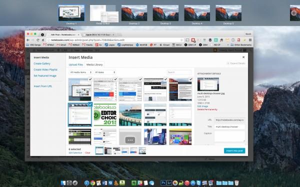 mission control virtual desktops