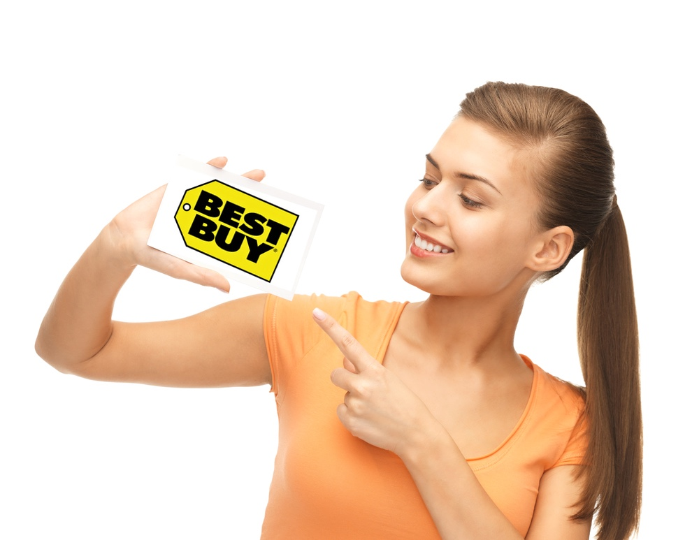 Maximize your Discount with My Best Buy & Best Buy Credit Card Before you get too excited by all the sweet deals in your cart, sign up for My Best Buy rewards program to earn points on all your purchases, redeemable for certificates in increments of $5. As a My Best Buy member, you'll have access to 77%().