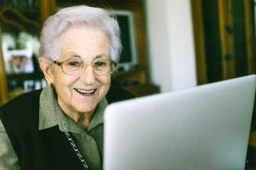 With WiFi and a webcam these notebooks for seniors are great for keeping in touch and much more.
