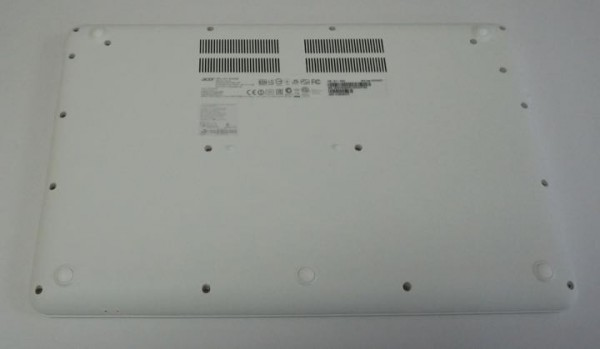acer chromebook 15 bottom