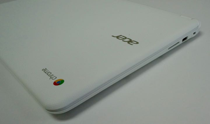 acer chromebook 15 left side