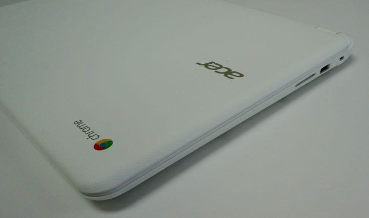acer chromebook 15 left side
