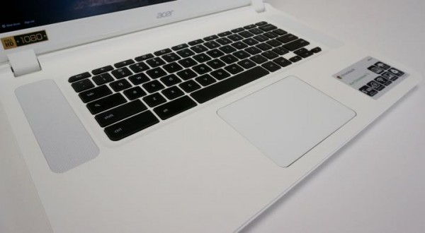 acer chromebook 15 keyboard and trackpad