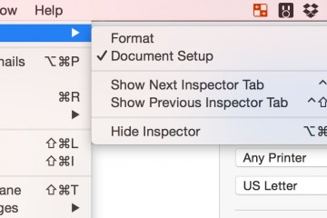 Hide Inspector to hide the right sidebar in Pages for OS X.