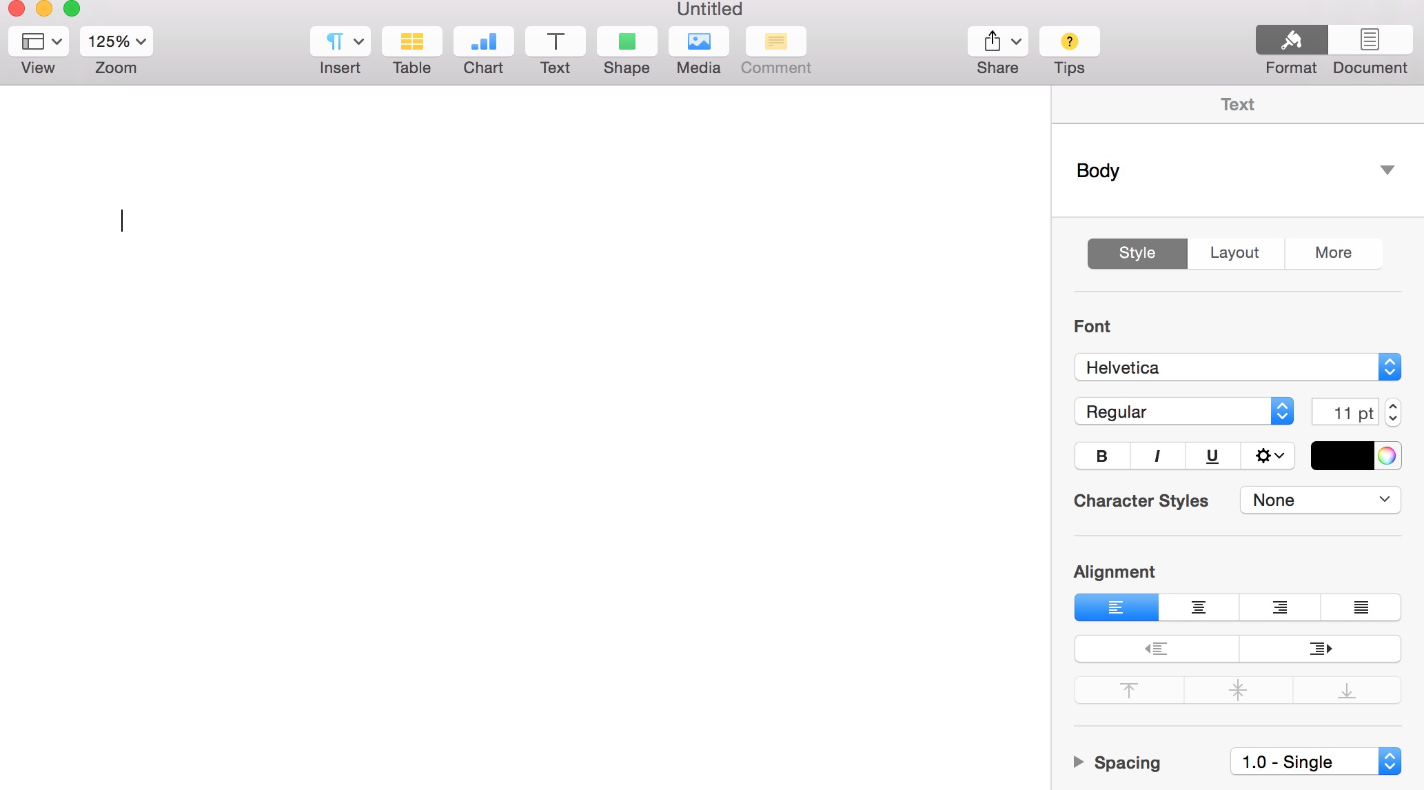 How To Hide The Right Sidebar In Pages For Mac
