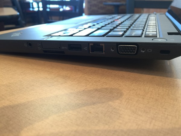 lenovo thinkpad t450s right side ports