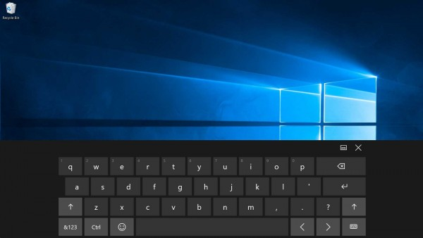 windows 10 onscreen keyboard