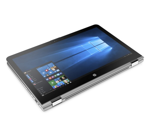 HP ENVY x360 15.6_Tablet Mode, Front Right Facing