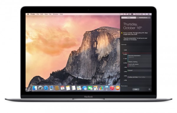 os x el capitan on macbook