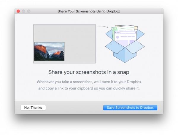 Screenshots OS X in Dropbox