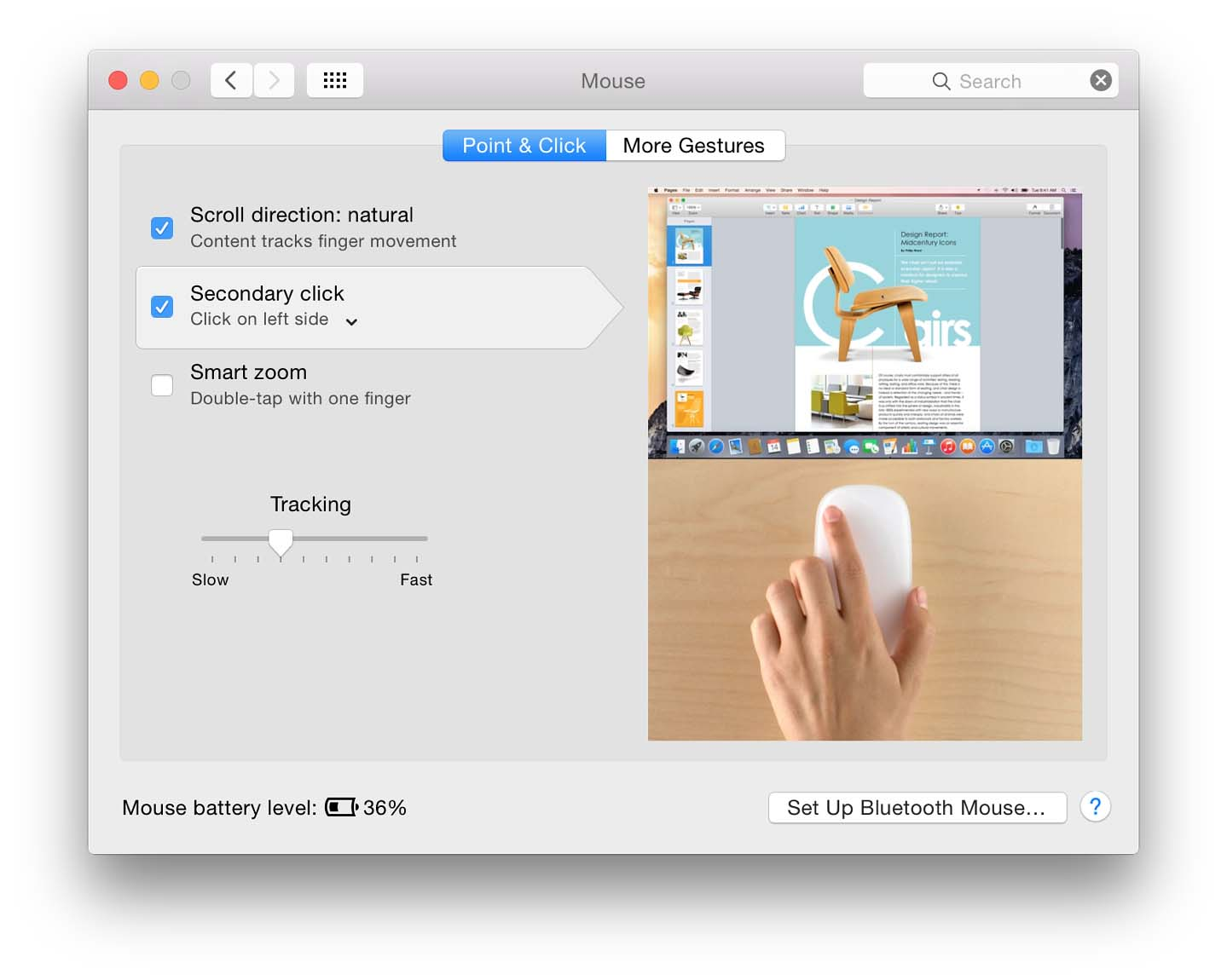 mac magic trackpad right click