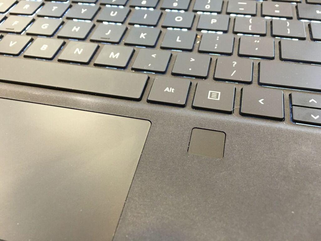 surface pro 4 type cover fingerprint sensor