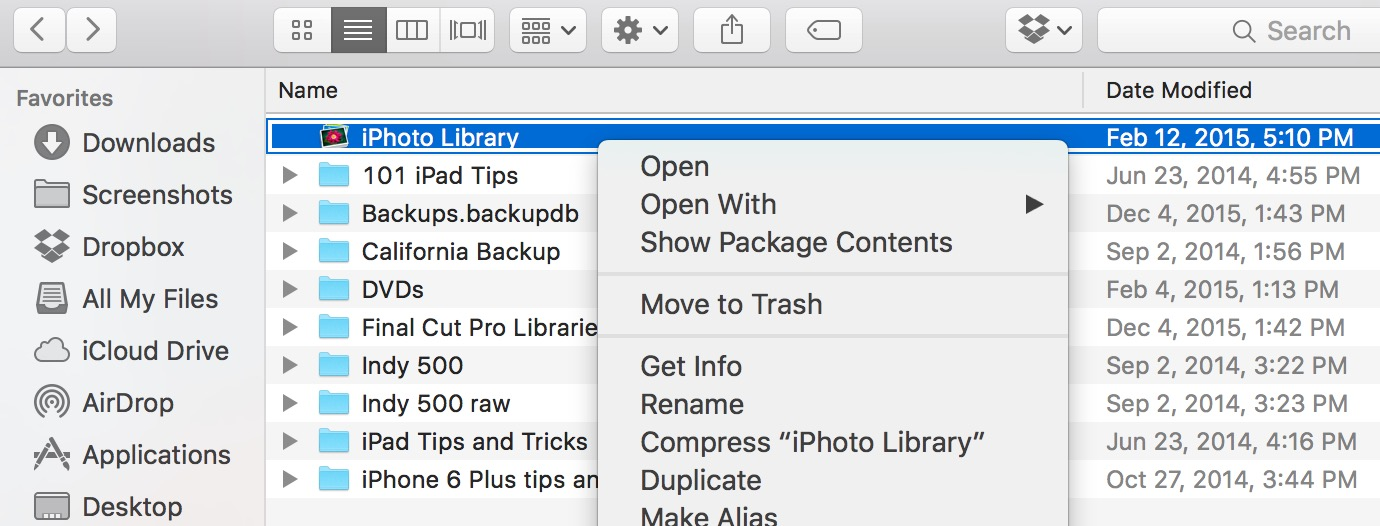 How to Delete iPhoto Library and Clean Up Your Mac
