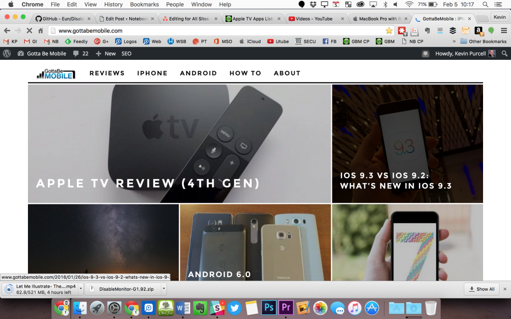 macbook pro at default resolution 1280 x 800