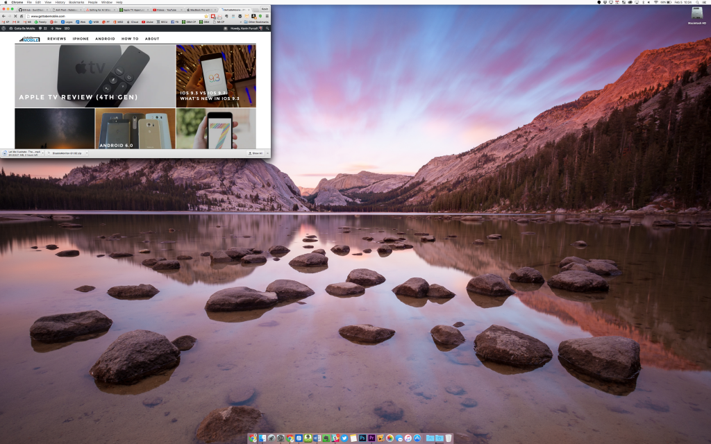 macbook pro with the higher resolution of 3360 x 2100
