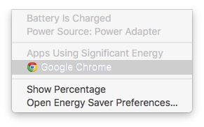MacBook battery life