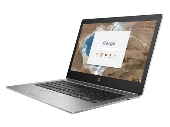 HP Chromebook 13 G1 front right