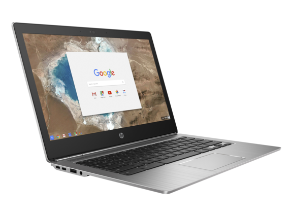 HP Chromebook 13 G1 left side