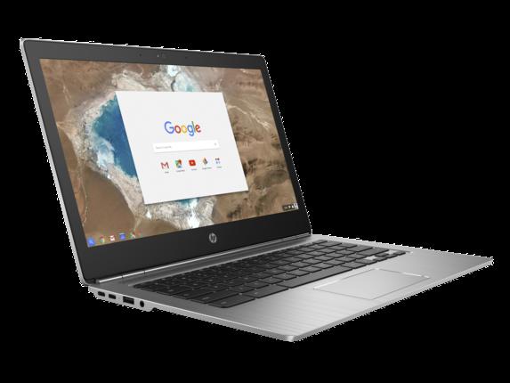 HP Chromebook 13 G1 left side