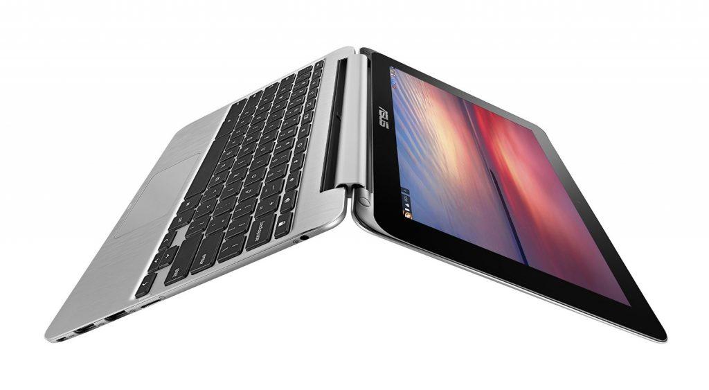 asus chromebook flip bending back