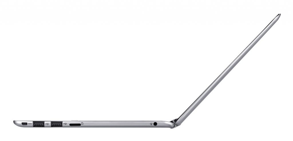 asus chromebook flip side view