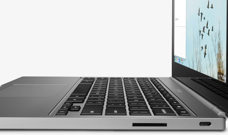 chromebook pixel right ports