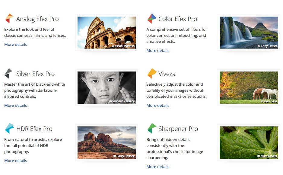 nik photo effects software