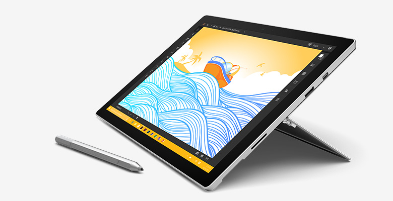 how to use inking on microsoft surface pro 4