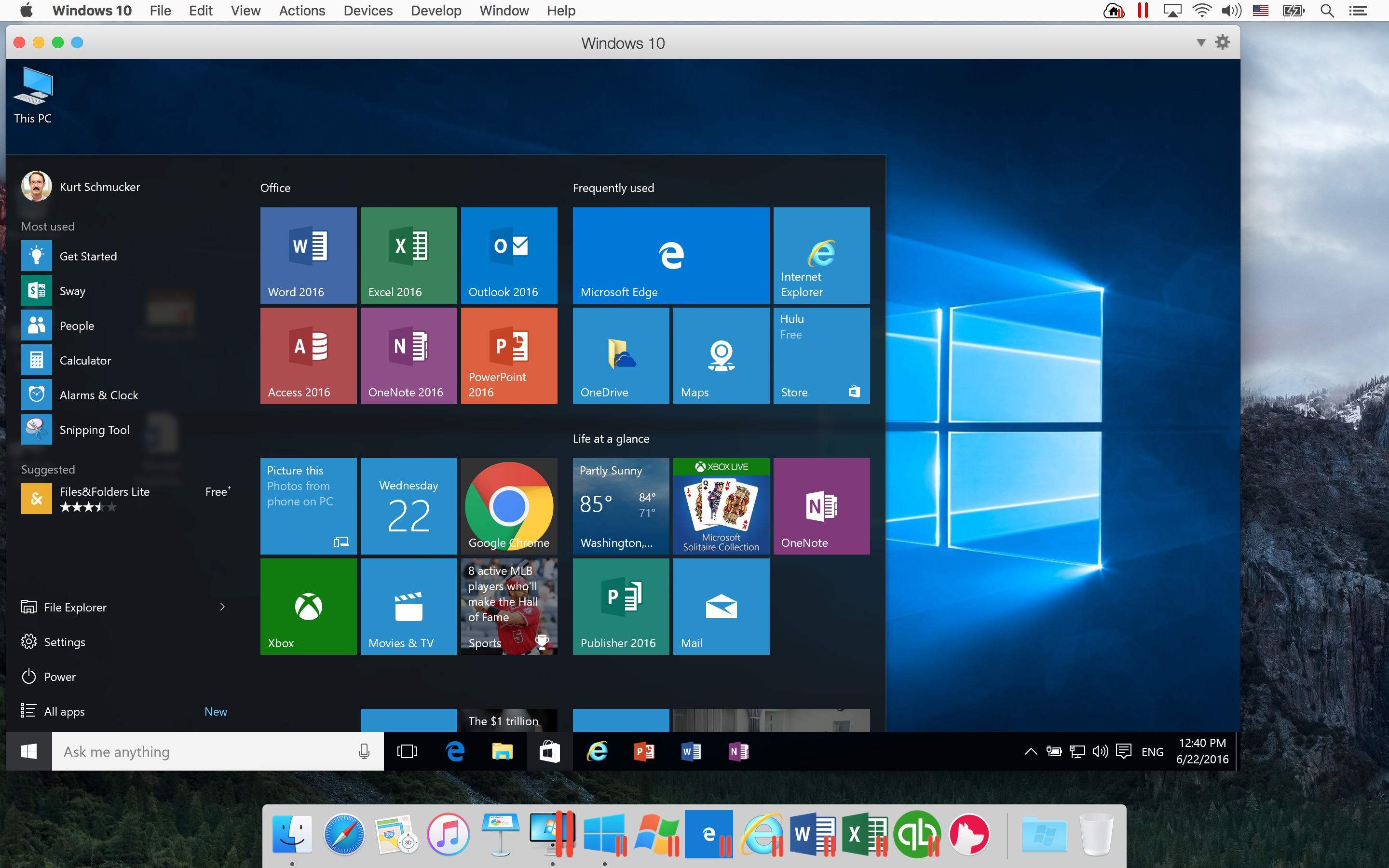 mac start menu for xp