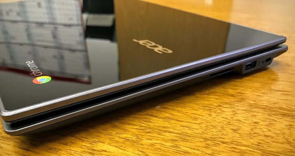 acer chromebook 14 for work right ports